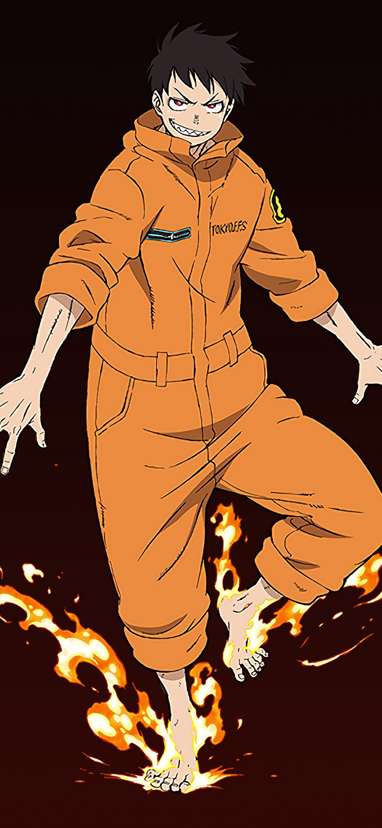 Fire Force Wallpaper Iphone X Anime Wallpapers Dark sky road iphone wallpaper. fire force wallpaper iphone x anime