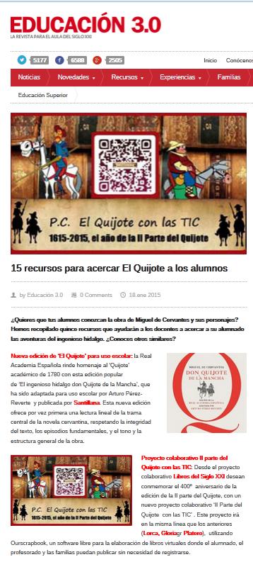 http://www.educaciontrespuntocero.com/recursos/recursos-acercar-el-quijote-los-alumnos/17823.html