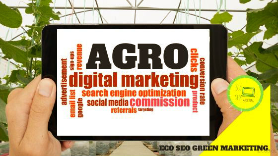 El agro marketing digital para la Agro Industria : productos y servicios