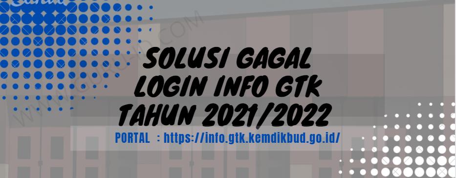 gambar  tidak bisa login info gtk 2021