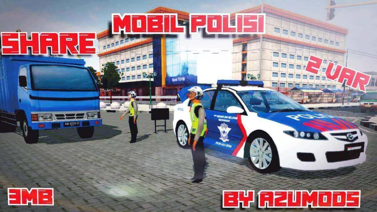 Mods Bussid Mazda 6 Polisi Car