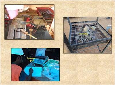 preparasi sampel bor nikel