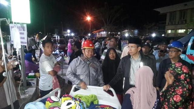 Sam Aliano Nilai Pemprov NTB Lakukan Kesalahan Besar saat Terjadinya Gempa Lombok