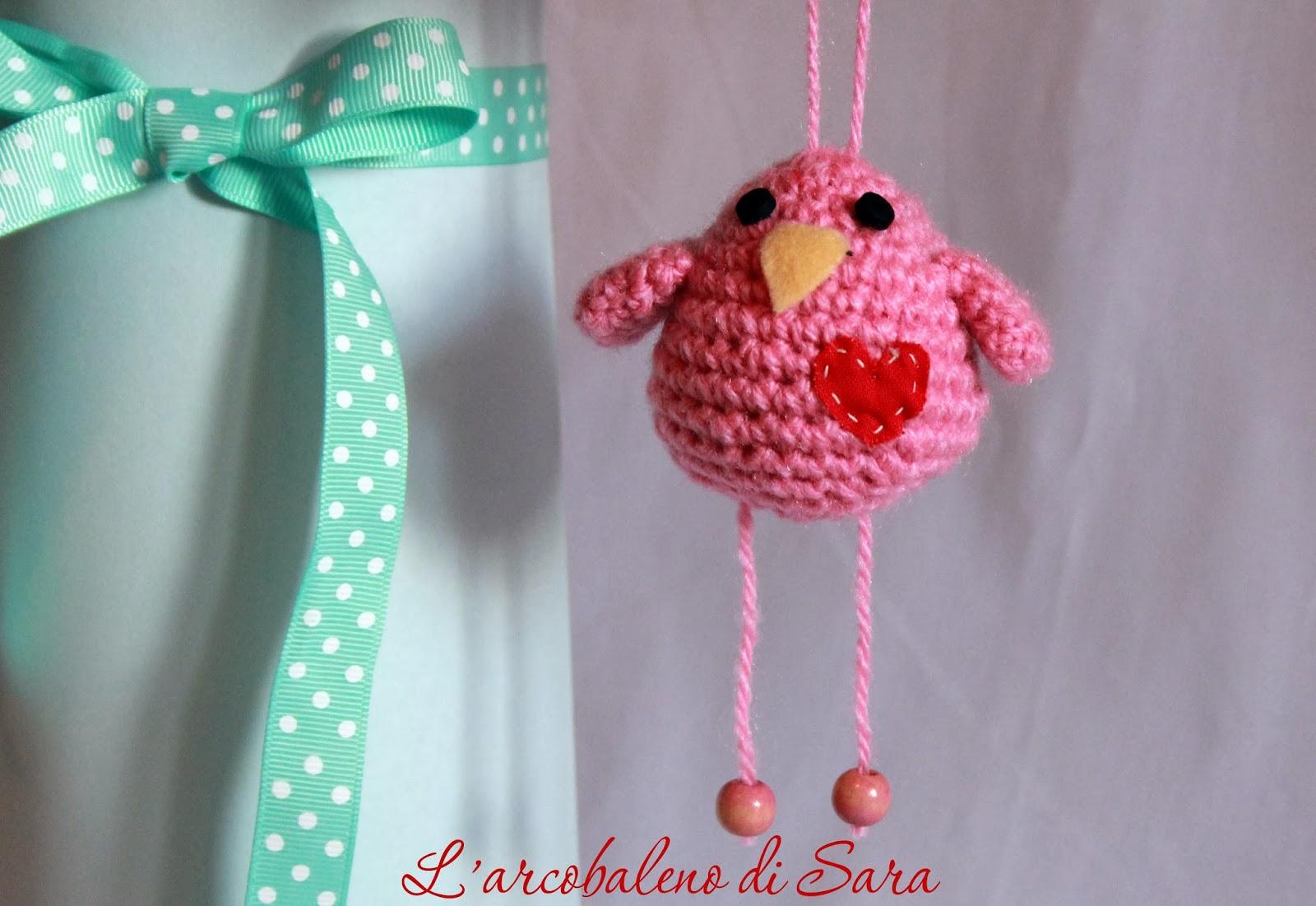 Crochet Bird Tutorial Larcobaleno Di Sara