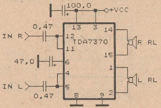 schematic power amplifier ic tda wiring diagram remote wiring diagram remote control