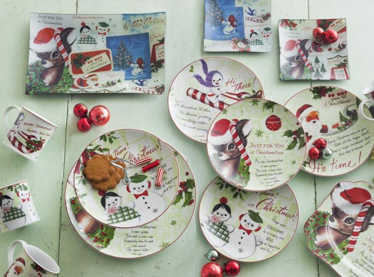 Christmas design christmas crockery for Christmas theme design
