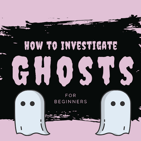 How to Conduct a GHOST INVESTIGATION for Beginners