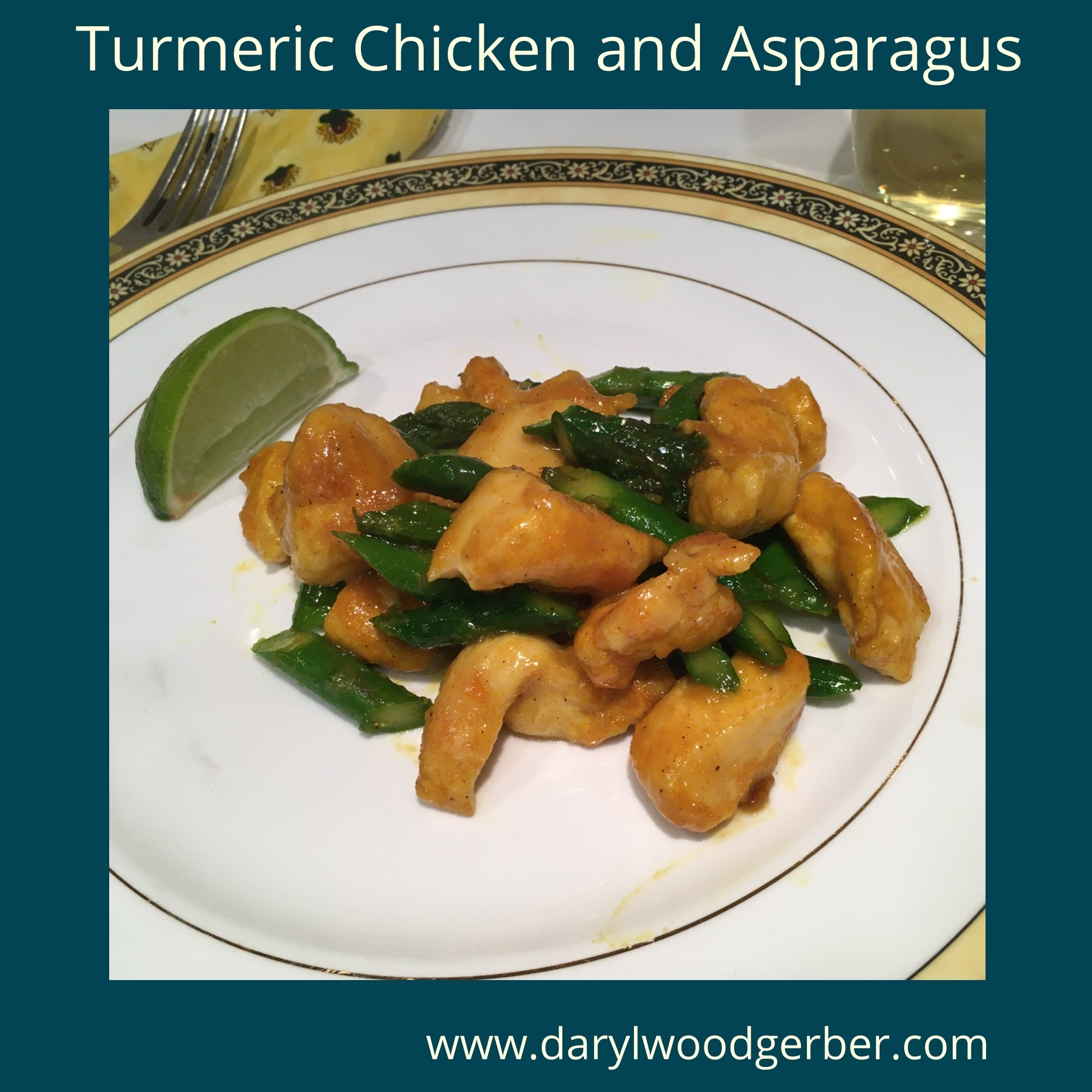 Mystery Lovers Kitchen Turmeric Chicken And Asparaus Recipe Author Darylwoodgerber