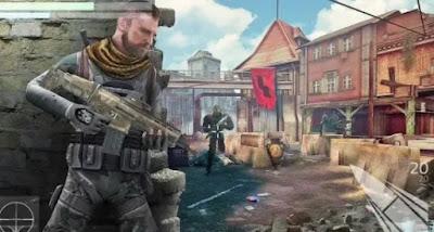 2.لعبة   Cover Fire Offline Shooting Games