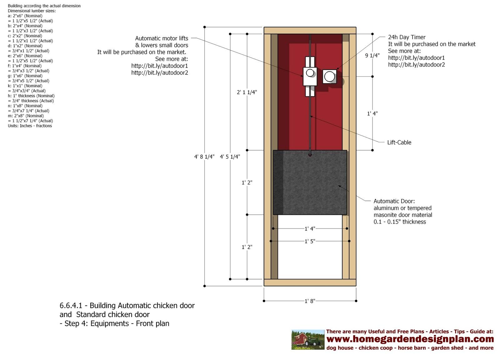 Automatic Chicken Coop Door Diy Chicken Coop