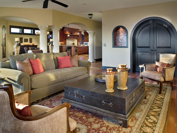 2012 Living Room Design Styles From HGTV