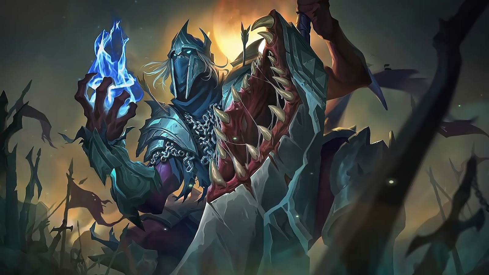 Wallpaper Hanzo Undead King Mobile Legends Full HD for PC