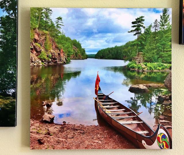 samuel de champlain voyager canoe