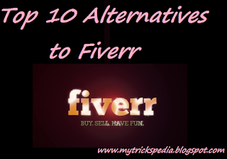 Top 10 Alternatives to Fiverr - Earn upto $50 per Gig!