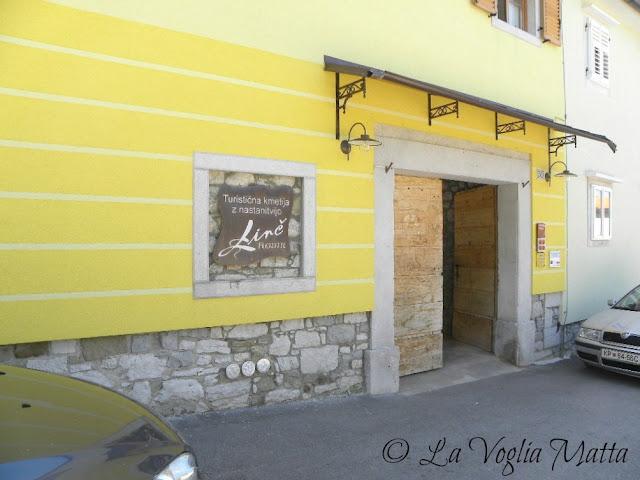 """Ristorante """"  Linč"""" a Roditi, in Slovenia"""