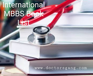 MBBS book list