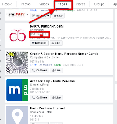 pemasaran online Grup Facebook