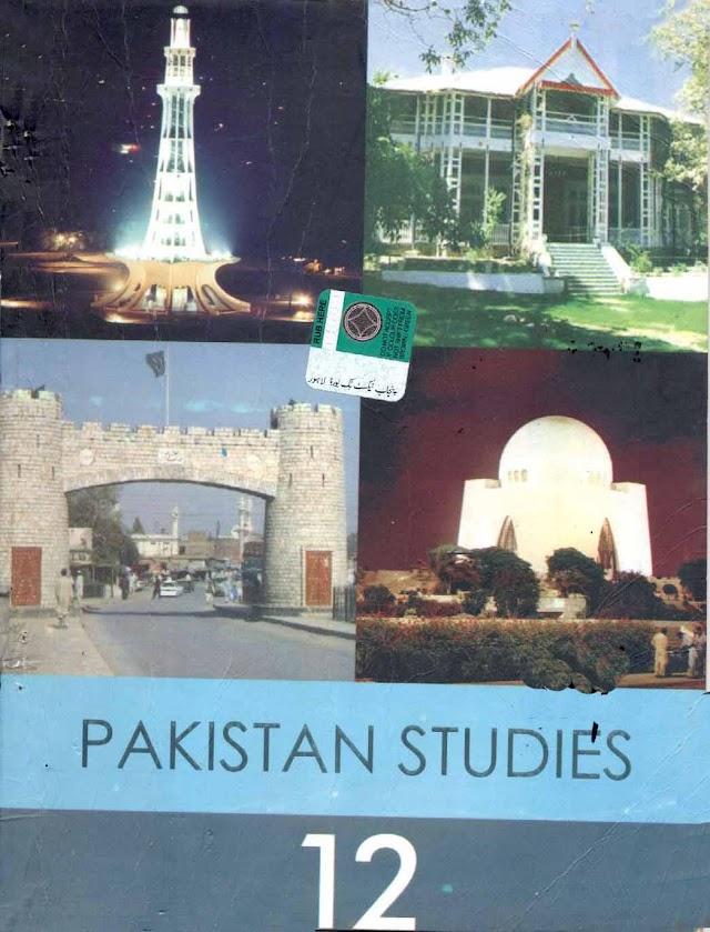 12th Class Pak Studies (English Medium) Textbook