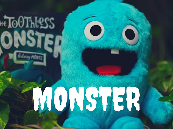 Monte The Toothless Monster Is Here To Take A Journey With Your Wiggly Toothed Kiddo #mbphgg18
