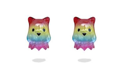 Ghostbear Rainbow Edition Vinyl Figure by Luke Chueh x Munky King