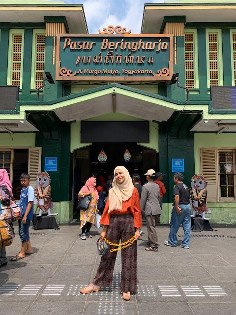 Wisata Heritage Jogja-Pasar Beringharjo