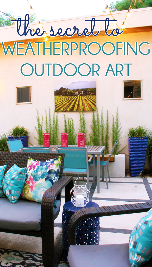 How to Weatherproof Outdoor Art