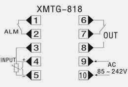 Controladores XMTG-808: XMTG-818