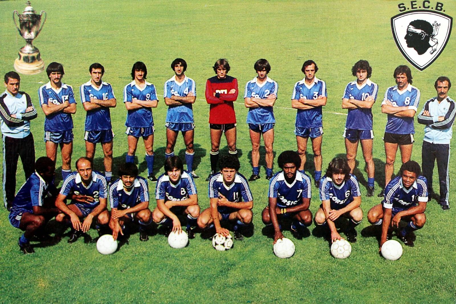 S e c bastia 1981 coupe de france the vintage football club - Coupe de france 2015 foot ...