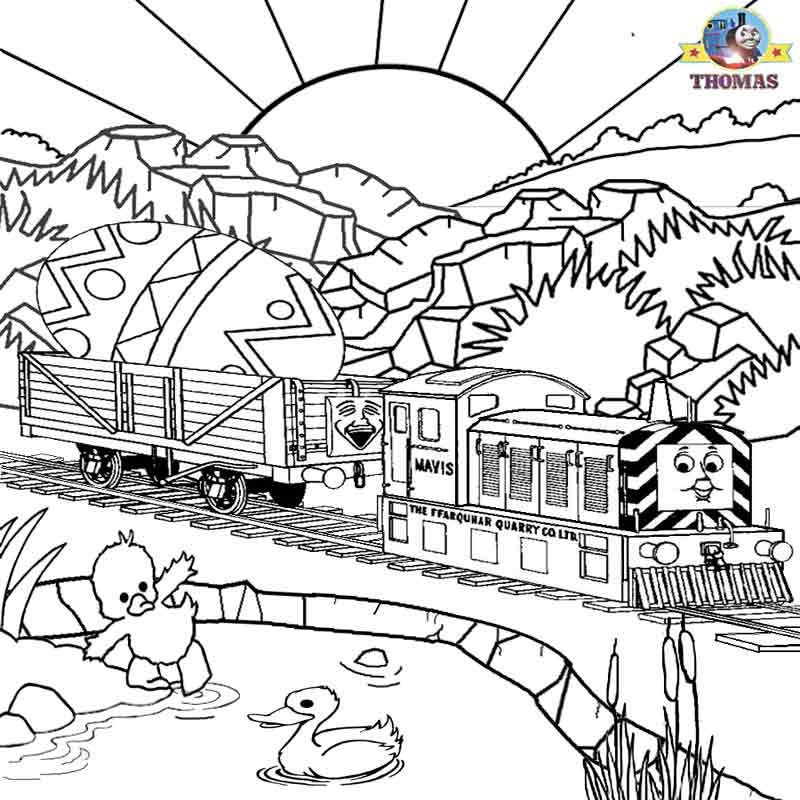 Free Printable Easter Worksheets Thomas The Train Coloring ...