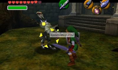 Πως να παίξετε το Zelda 64 : Ocarina of Time και Zelda Master Quest με HD γραφικά 7