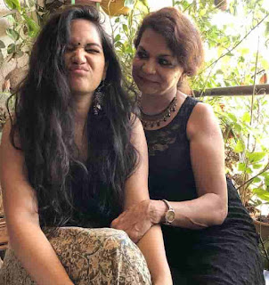 Ayesha Kaduskar With Her Mother
