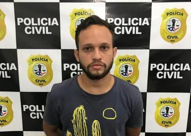 "NA MIRA - Preso jovem suspeito de aplicar golpe ""Boa Noite Cinderela"" no MA"