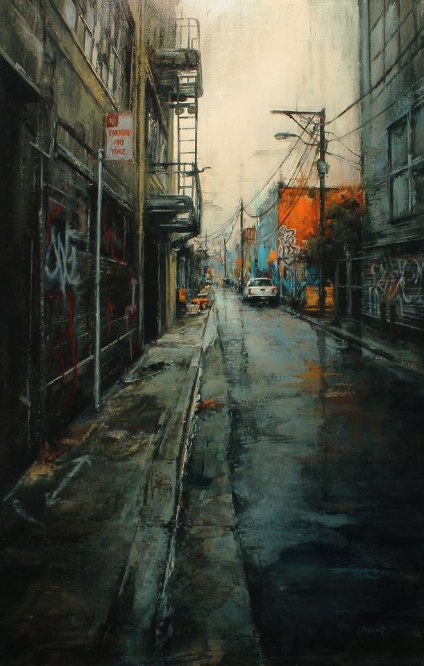06-Lindsey-Kustusch-Urban-Goings-on-Captured-in-Oil-Paintings-www-designstack-co