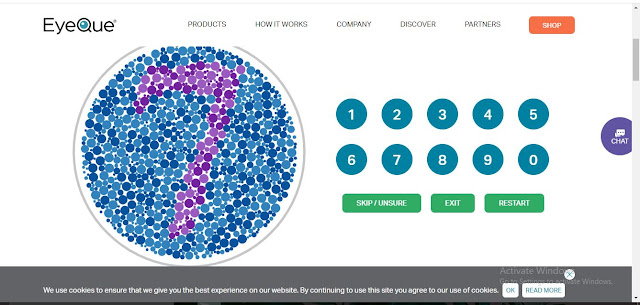 Free Colour Blindness test online