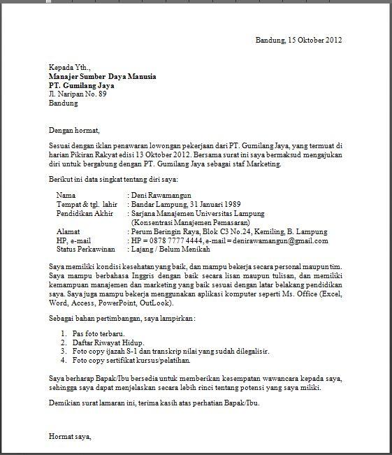 Contoh Resume Bahasa Indonesia Dan Inggris Contoh Surat Lamaran