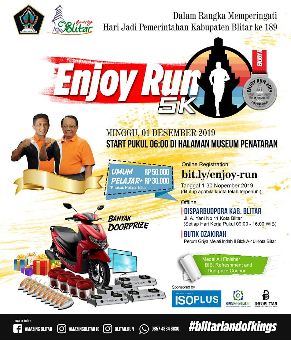 Enjoy Run 5K • 2019