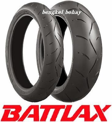 daftar harga ban motor Battlax lengkap