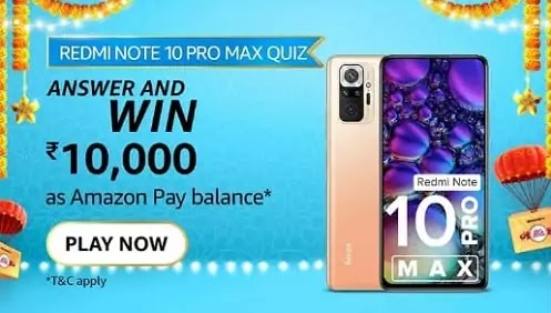 What is the processor in Redmi Note 10 Pro Max