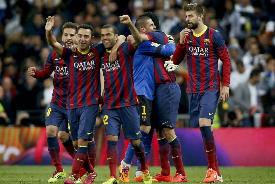 Barcelona derrotó al Real Madrid