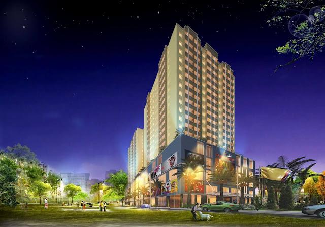 Tổng thể dự án chung cư Lộc Ninh.