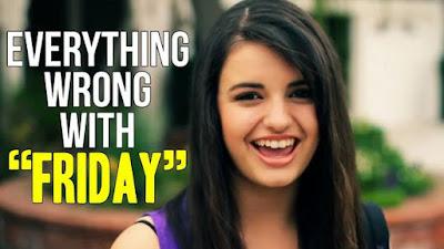 youtube creator Rebecca Black friday
