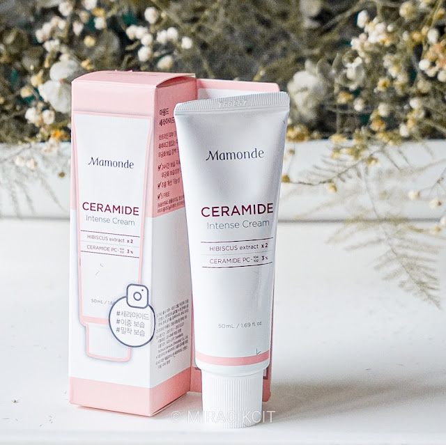Review Mamonde Ceramide Intense Cream Hibiscus