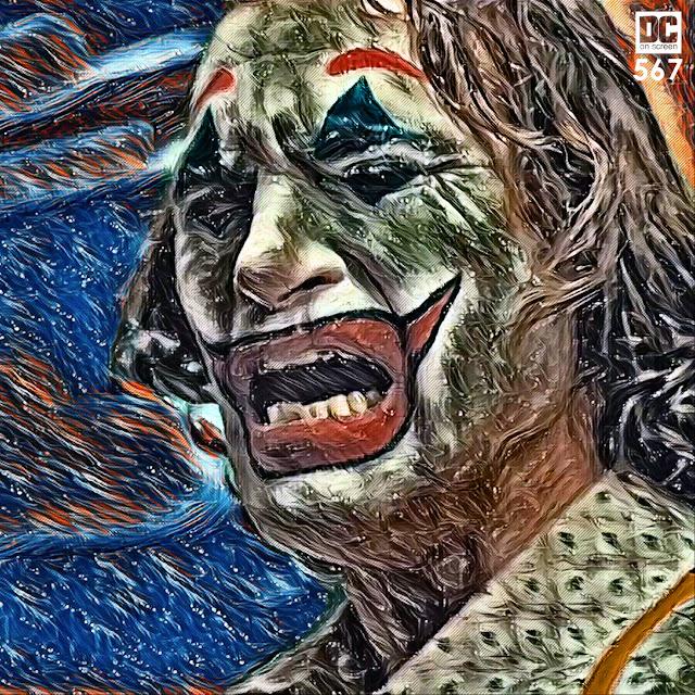 Joker cries/laughs