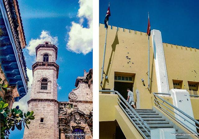 Cuba: Catedral de Havana e Quartel de Moncada