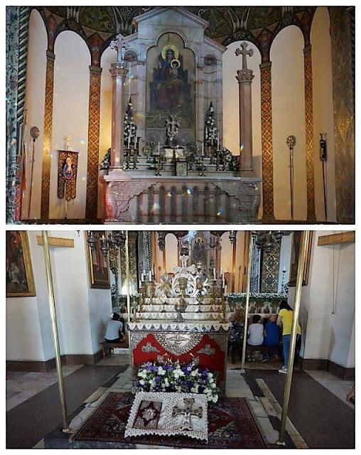 interior de catedral de Echmiadzin