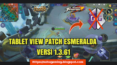 Download Script Tablet View Patch Esmeralda/ KOF Note 1.3.66 Mobile Legends: Bang bang