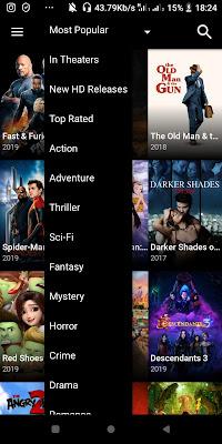 حمل تطبيق Terrarium Tv وشاهد وحمل احدث الافلام والمسلسلات الاجنبية