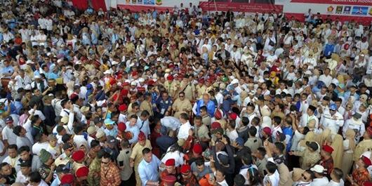 Prabowo: Yang Mau Mengganti Pancasila, Hadapi Saya!