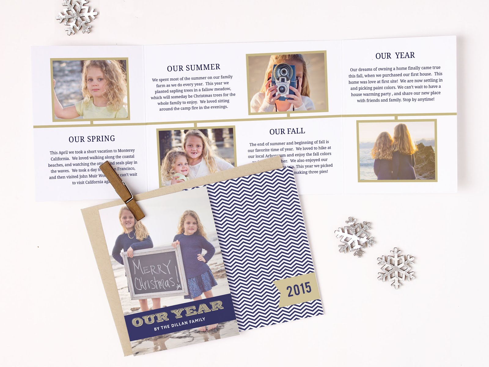 Christmas Cards - BasicInvite.com - The Naptime Reviewer - Things to do with Cards After the Holidays