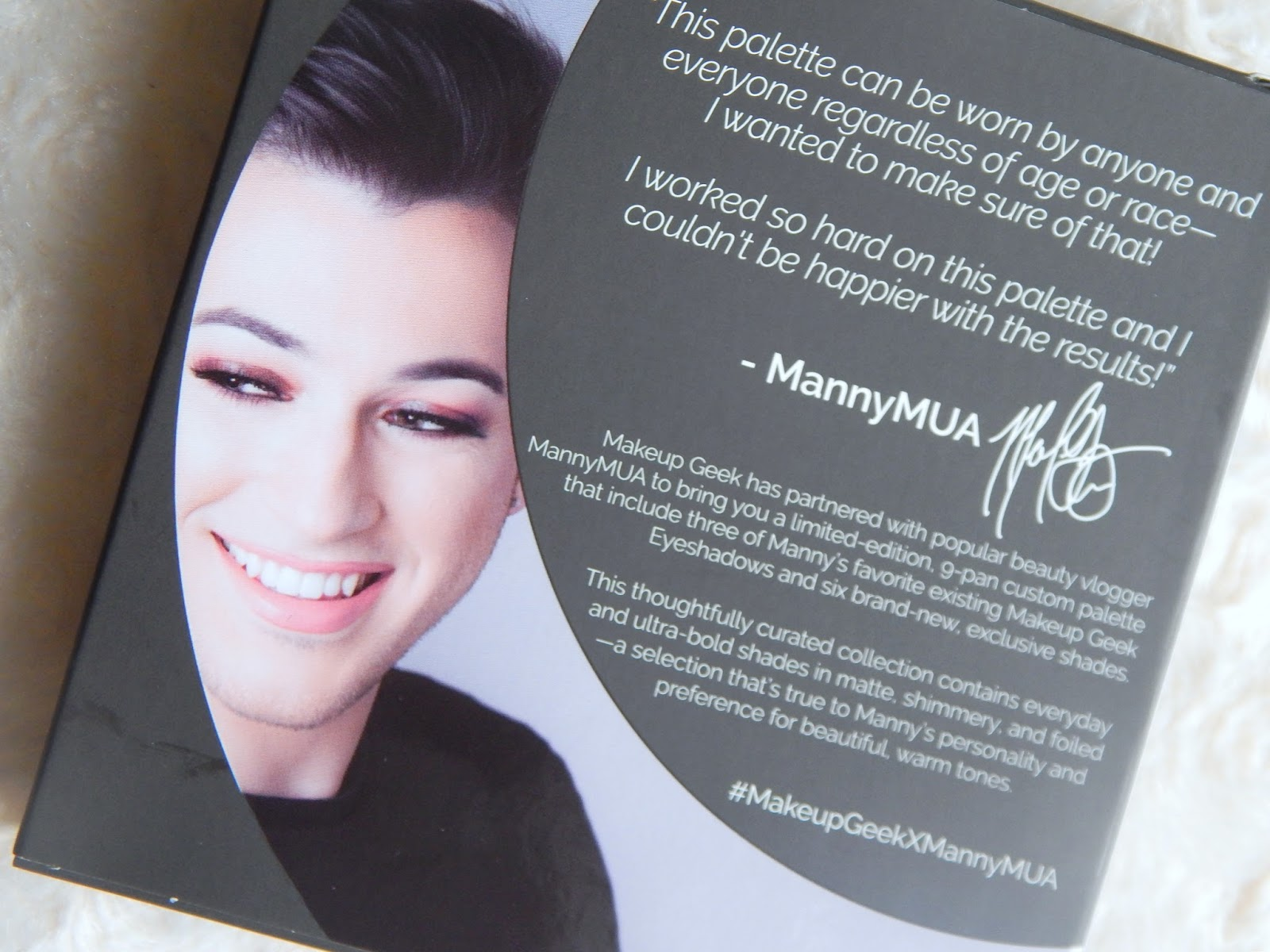 Manny MUA Makeup Geek Eyeshadow Palette
